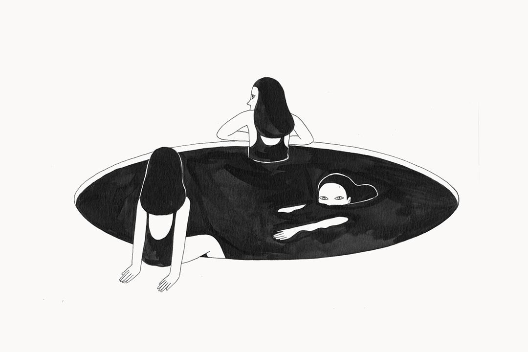 "Gong Kan, ""The Black Pool""."