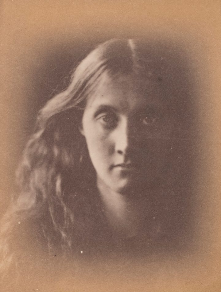 Julia Margaret Cameron, Julia Jackson from <em>Mrs. Cameron's Photographs from the Life</em> (gift of Tina Freeman and Philip Woollam, image courtesy the New Orleans Museum of Art)