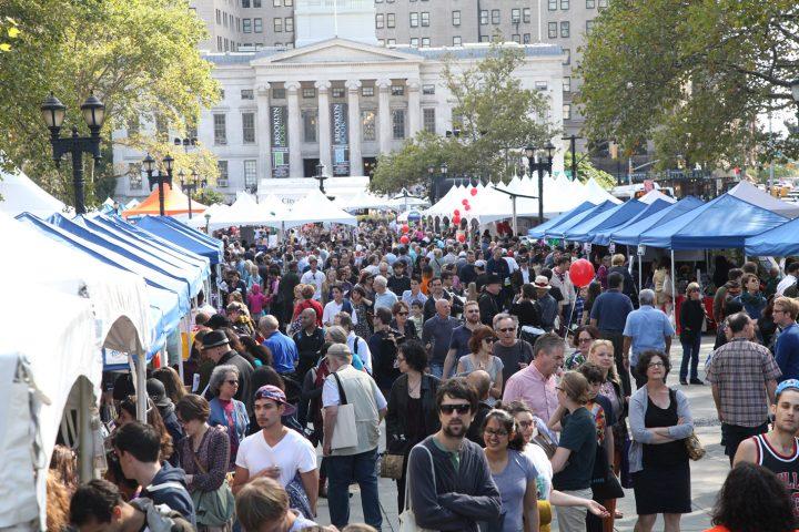 Brooklyn Book Festival (image courtesy the Brooklyn Book Festival)
