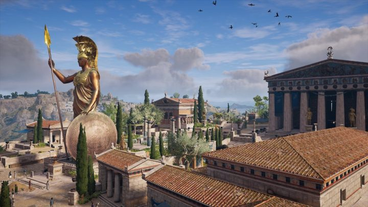 A Video Game Shows The True Colors Of Ancient Greece
