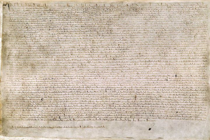 Man arrested for attempted theft of Magna Carta