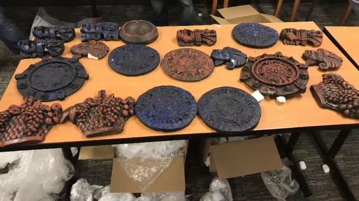 Drug Dealers Disguised 25 Pounds Of Meth As Aztec Souvenirs