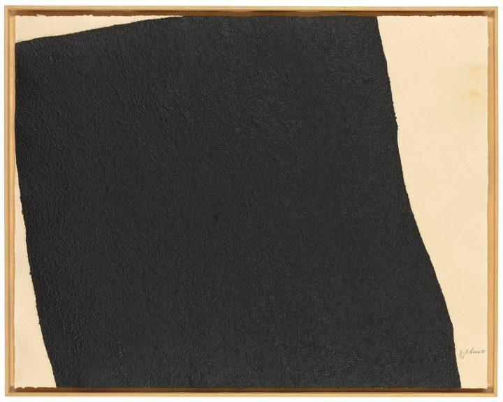 "Richard Serra, ""Hreppholar III & VIII, from: Afangar Icelandic Series"" (1991) (image courtesy Christie's)"