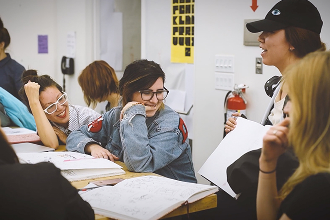 The MFA-IVC program, launching in fall 2019, will prepare graduates to work as professional illustrators, author-artists, critical writers, curators, and professors.