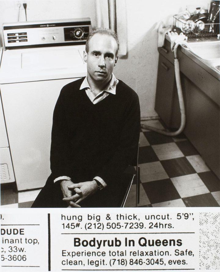 "Robert Blanchon, ""Untitled [Bodyrub in Queens]"" (1987)"