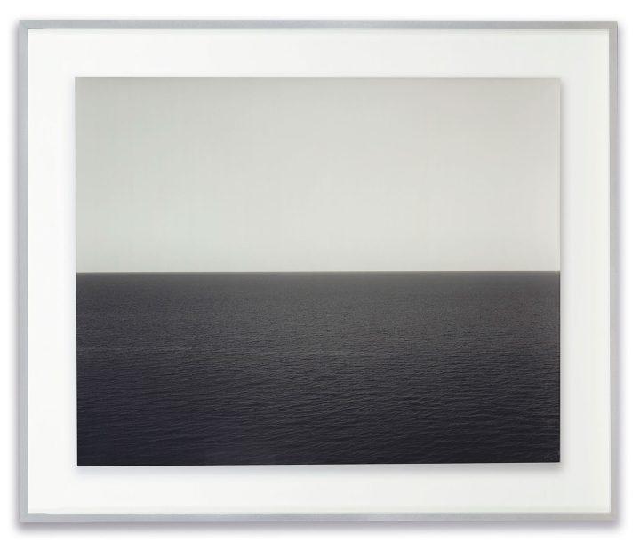 "Hiroshi Sugimoto, ""Sea of Japan, Rebin Island, 1996"" (image courtesy Christie's)"