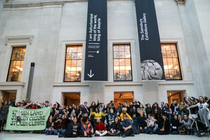 Hundreds Attend Guerilla, Activist-Led Tour of Looted Artifacts at the British Museum