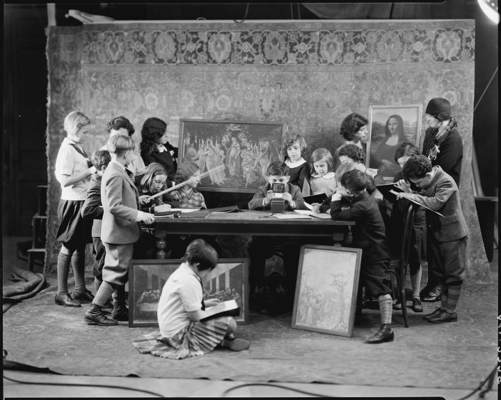 """""""Class of Members' Children"""" (1929) (photo © The Metropolitan Museum of Art, via The Metropolitan Museum of Art Flickrstream)"""