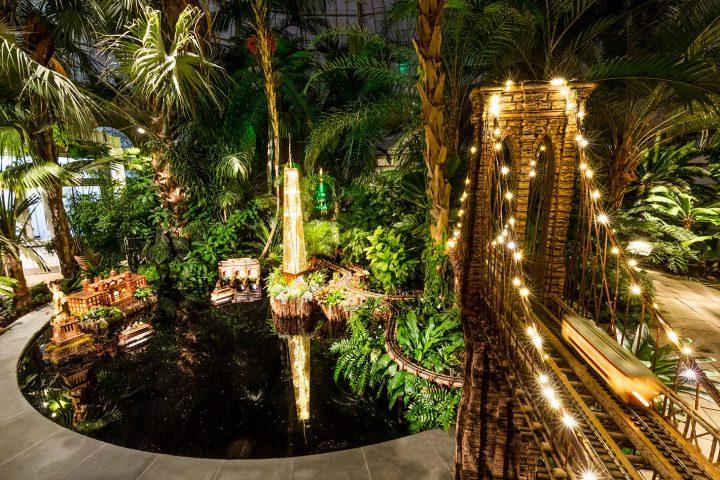 New York Botanical Gardens' 27th Annual Holiday Train Show (image courtesy New York Botanical Gardens)