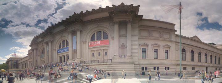 Exterior Panorama, Metropolitan Museum of Art (photo by Michael Gray, via Michael Gray's Flickrstream)