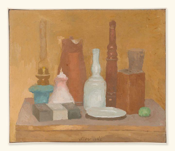 """Giorgio Morandi, """"Natura Morta"""" (c. 1923), oil on canvas, 45 x 53 cm (image cpourtesy Christie's)"""