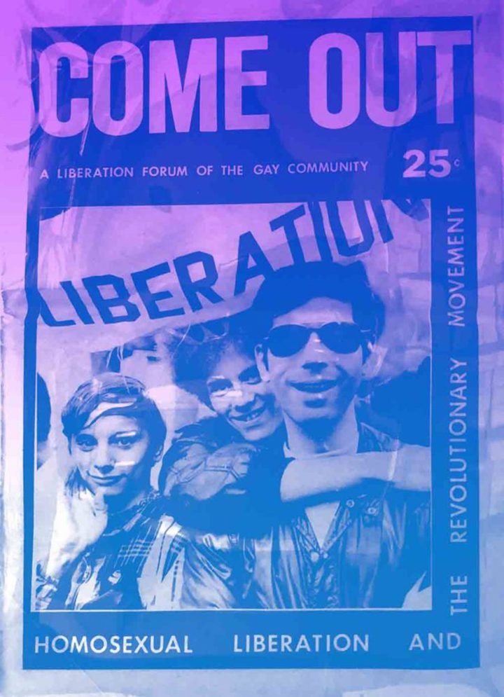 Come Out! A Newspaper by and for the Gay Community (image courtesy Interference Archive)