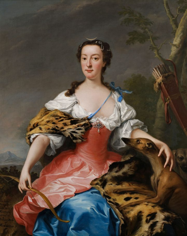 Andrea Soldi, Isabella Duchess of Manchester (1738) (image courtesy Whitfield Fine Art and the Foundling Museum)