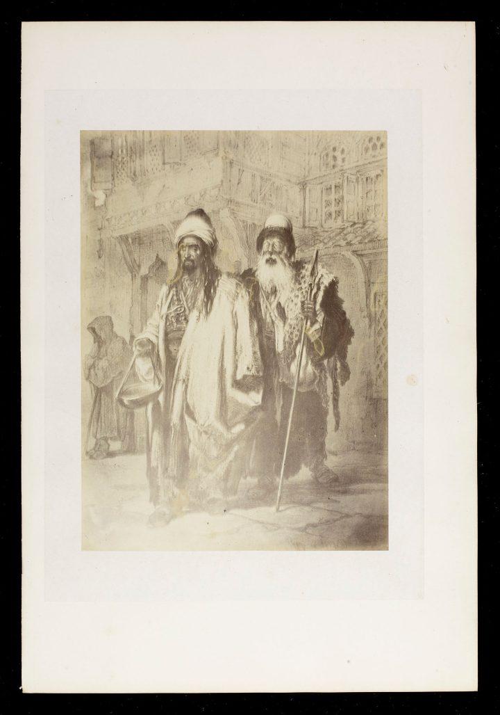 Beggars (undated, c. 1857)