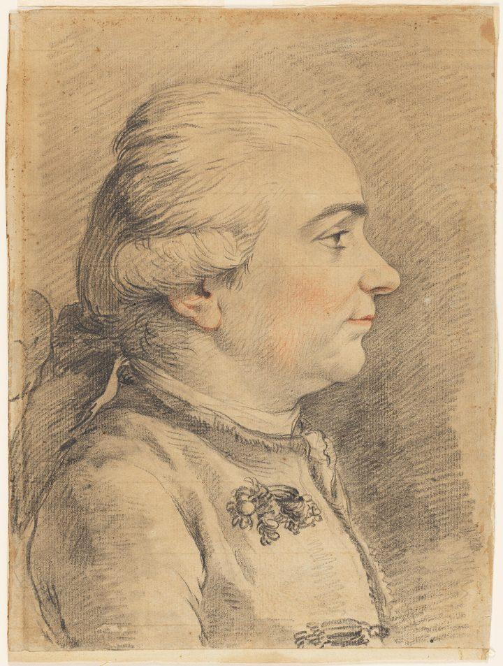 """Louis-Jean-François Lagrenée, """"Self-Portrait"""" (1778) (photo by Cecilia Heisser/Nationalmuseum)"""