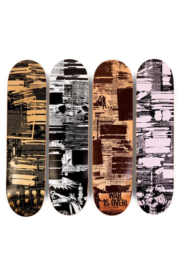 Supreme skate decks (image courtesy Sotheby's)