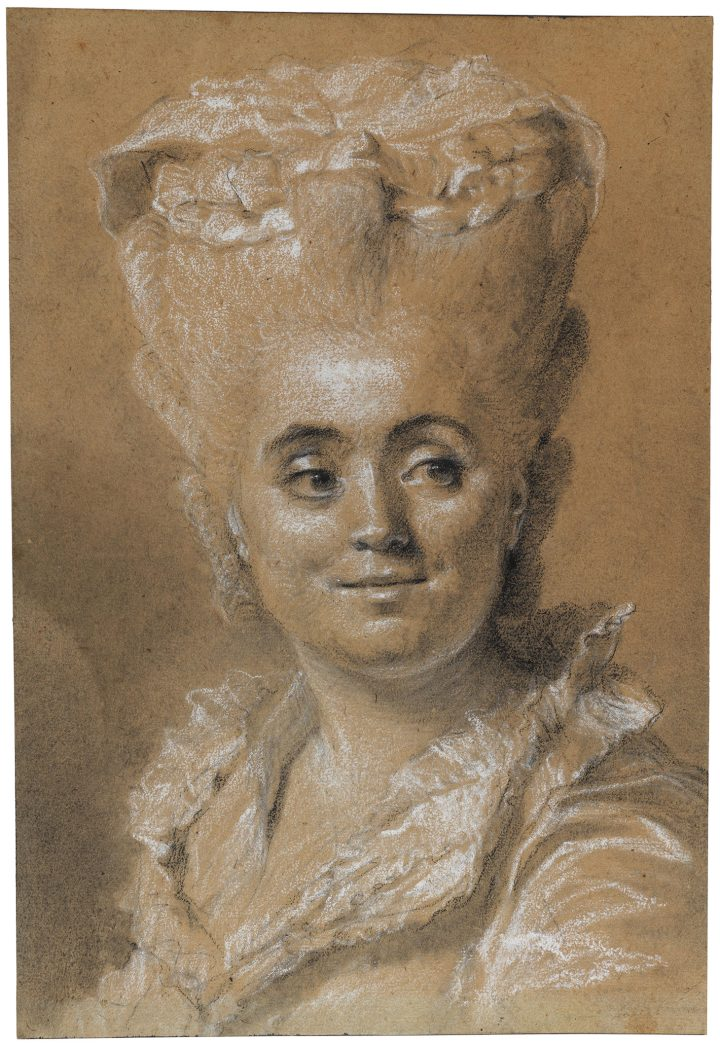 """Johann-Ernst Heinsius, """"Portrait of a Woman Looking to the Right"""" (photo by Cecilia Heisser/Nationalmuseum)"""