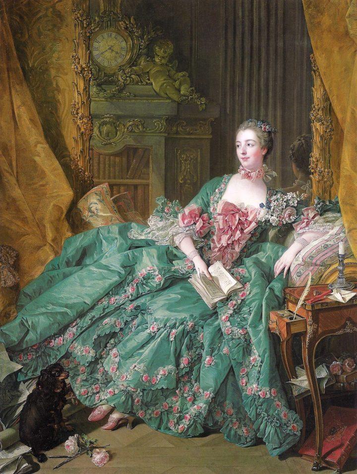 """François Bouche, """"Madame de Pompadour"""" (1721-1764)"""