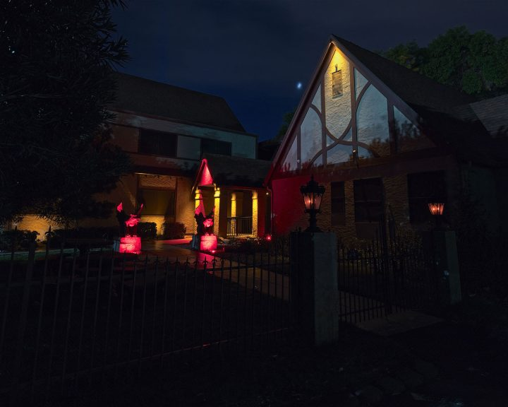 The Haunted Museum entrance