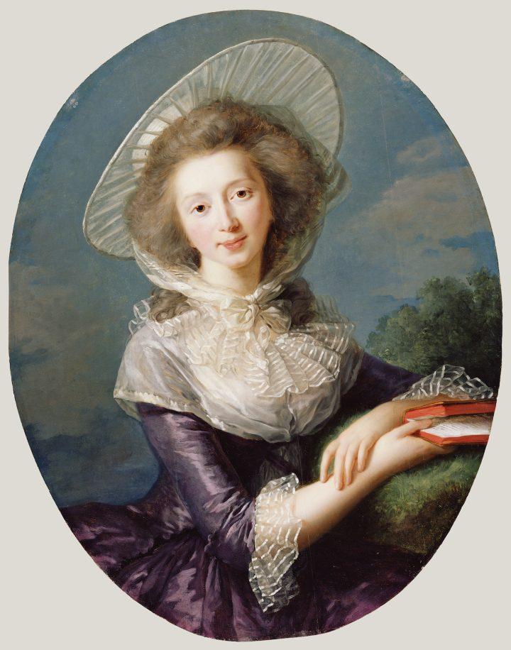 """Élisabeth Louise Vigée Le Brun, """"The Vicomtesse de Vaudreuil"""" (1785)"""
