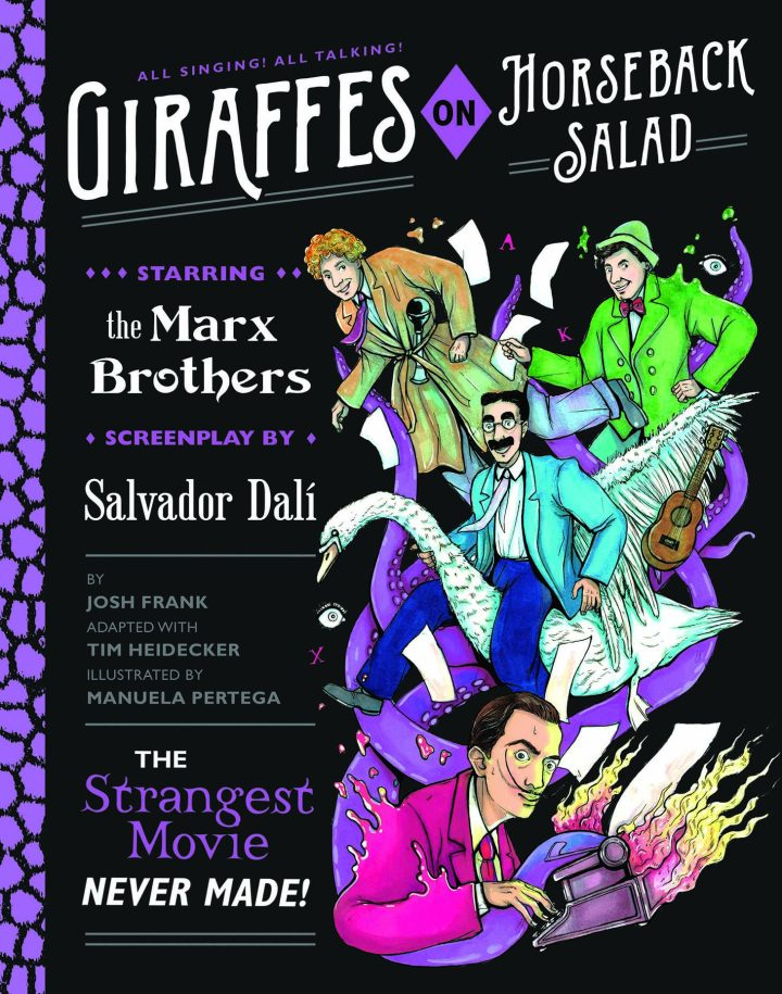 A Graphic Novel Revives a Script by Salvador Dalí and the Marx Brothers