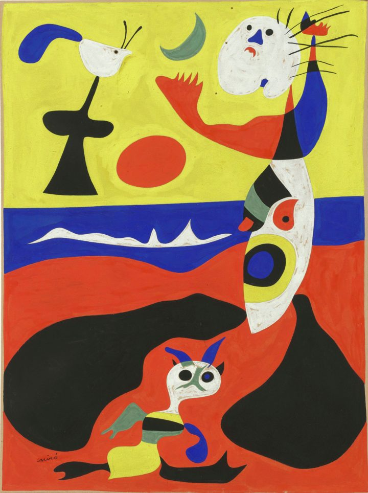 """Joan Miró, """"Summer"""" (1938) (image courtesy The Baltimore Museum of Art: Bequest of Saidie A. May, BMA 1951.341, © Successió Miró / Artists Rights Society (ARS), New York / ADAGP, Paris)"""