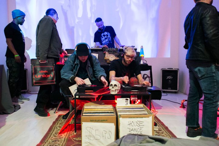 Come Together: Music Festival and Label Market on March 24, 2018, presented at MoMA PS1 as a part of VW Sunday Sessions 2017–2018 (photo by Kevin Aranibar)