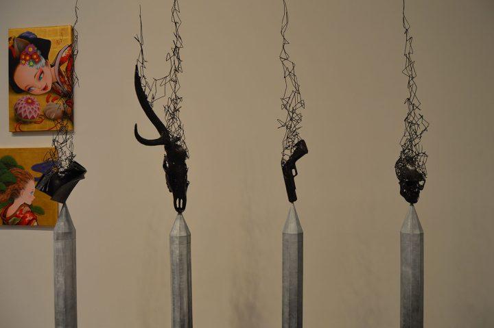 "Tomohiro Inaba, ""Vessel of Memory No. 2"" (2019), installation, Gallery Art Composition"