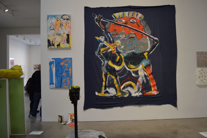 David Bade, KERSGALLERY, Amsterdam, installation shot