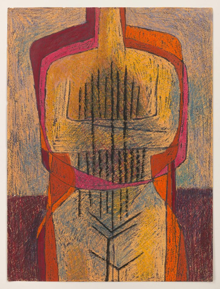"Luchita Hurtado, ""Untitled"" (c. 1951) (© Luchita Hurtado, photo courtesy the artist and Hauser & Wirth)"
