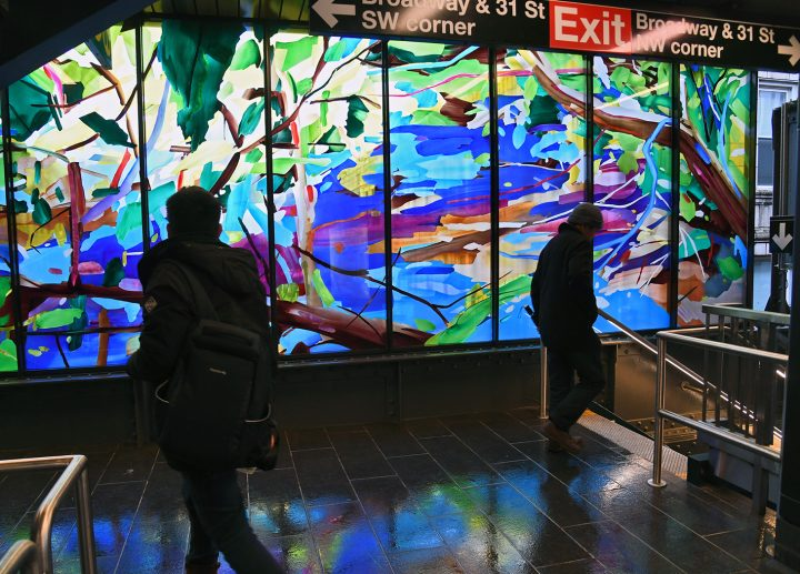 When it Comes to Female Artists, the MTA has a Better Track Record than NY's Top Museums