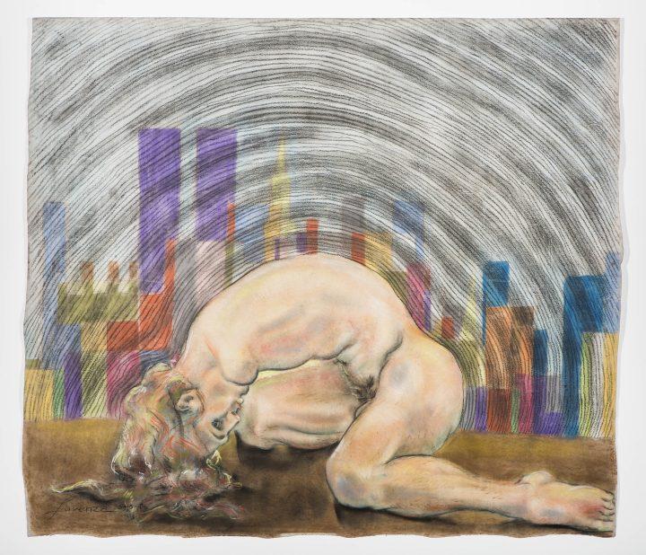 "Lorenza Böttner, ""Untitled"" (1986), pastel crayon on paper"