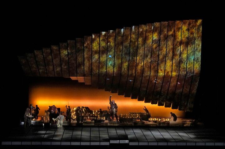 A scene from Wagner's <em>Das Rheingold</em>