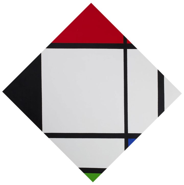 "General Idea, ""Infe©ted Mondrian #2"" (1994), (image courtesy Stedelijk Museum Amsterdam)"