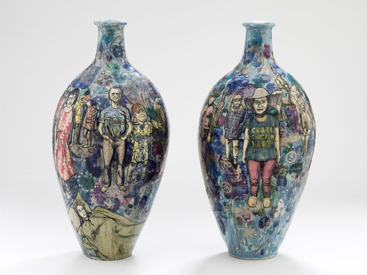 "Grayson Perry, ""Matching Pair"" (image courtesy the V&A)"