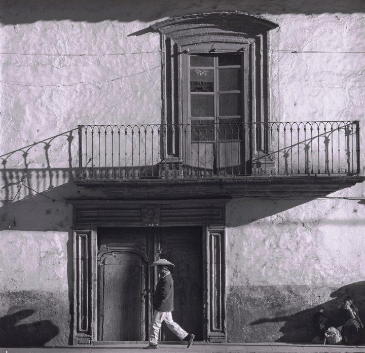"Brett Weston, ""Rock Wall"" (1975), vintage gelatin silver print (image courtesy Snite Museum of Art)"
