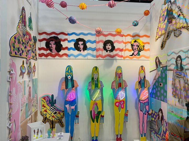 Charlotte Urreiztieta, installation view at The Other Art Fair