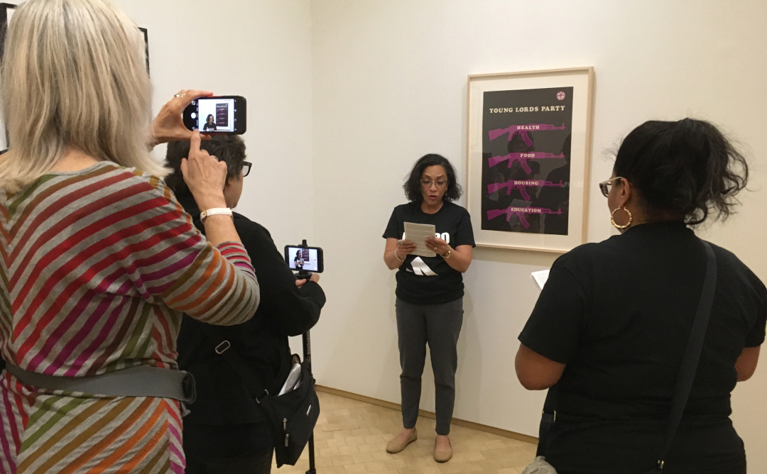 Activists Occupy El Museo del Barrio During Its 50th Anniversary Celebrations