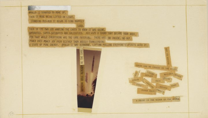 Robert Rauschenberg And The Men On The Moon