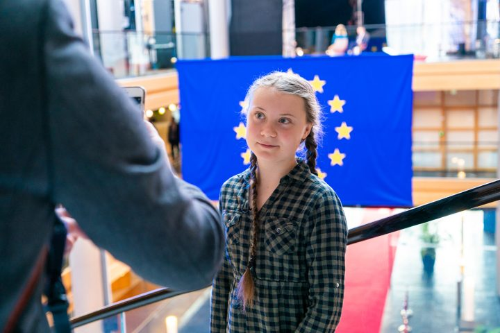 Greta Thunberg's Handwriting Sprouts as a New Typeface