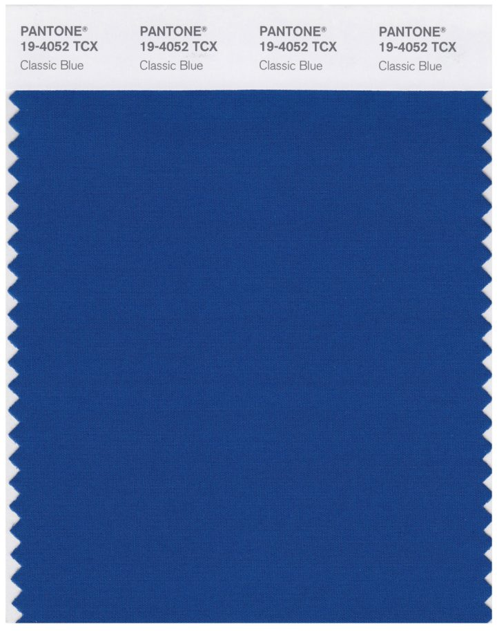 It's Official, Classic Blue Is the Color of 2020