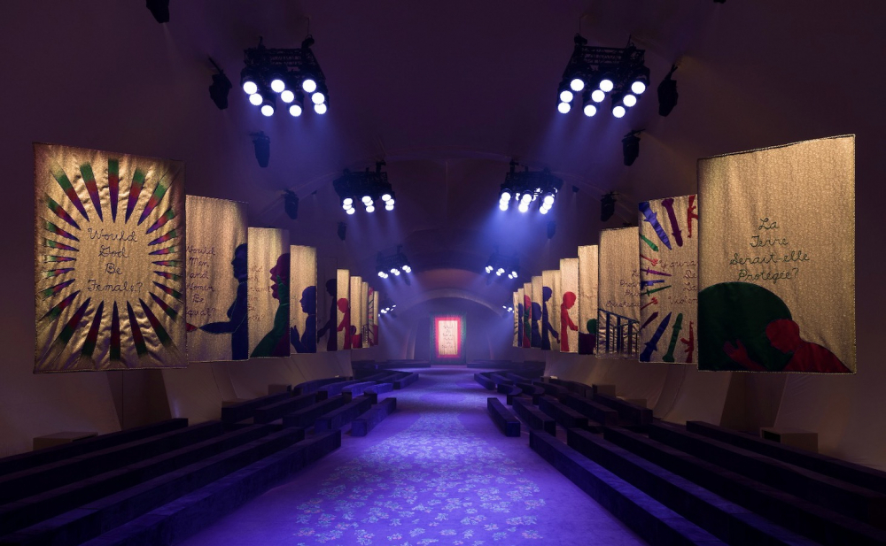 Judy Chicago's Collaboration With Dior Is Beautiful, but Its Feminist Ambitions Are Questionable
