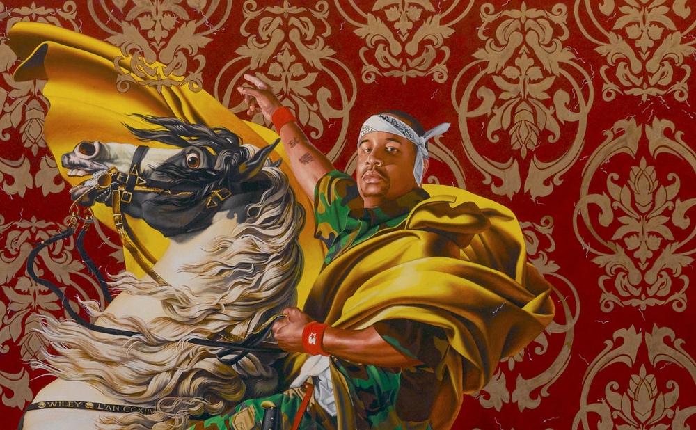 Kehinde Wiley Seizes the Throne