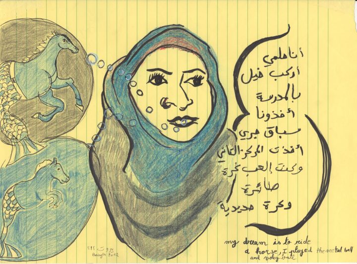 Mounira al Solh I strongly believe in our right to be frivolous
