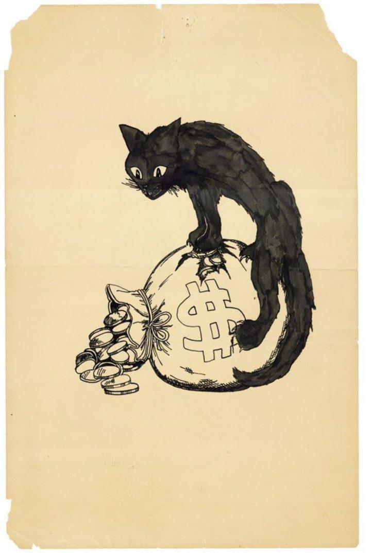 1913 original for cover of Walker C Smith Sabotage Ralph Chaplin