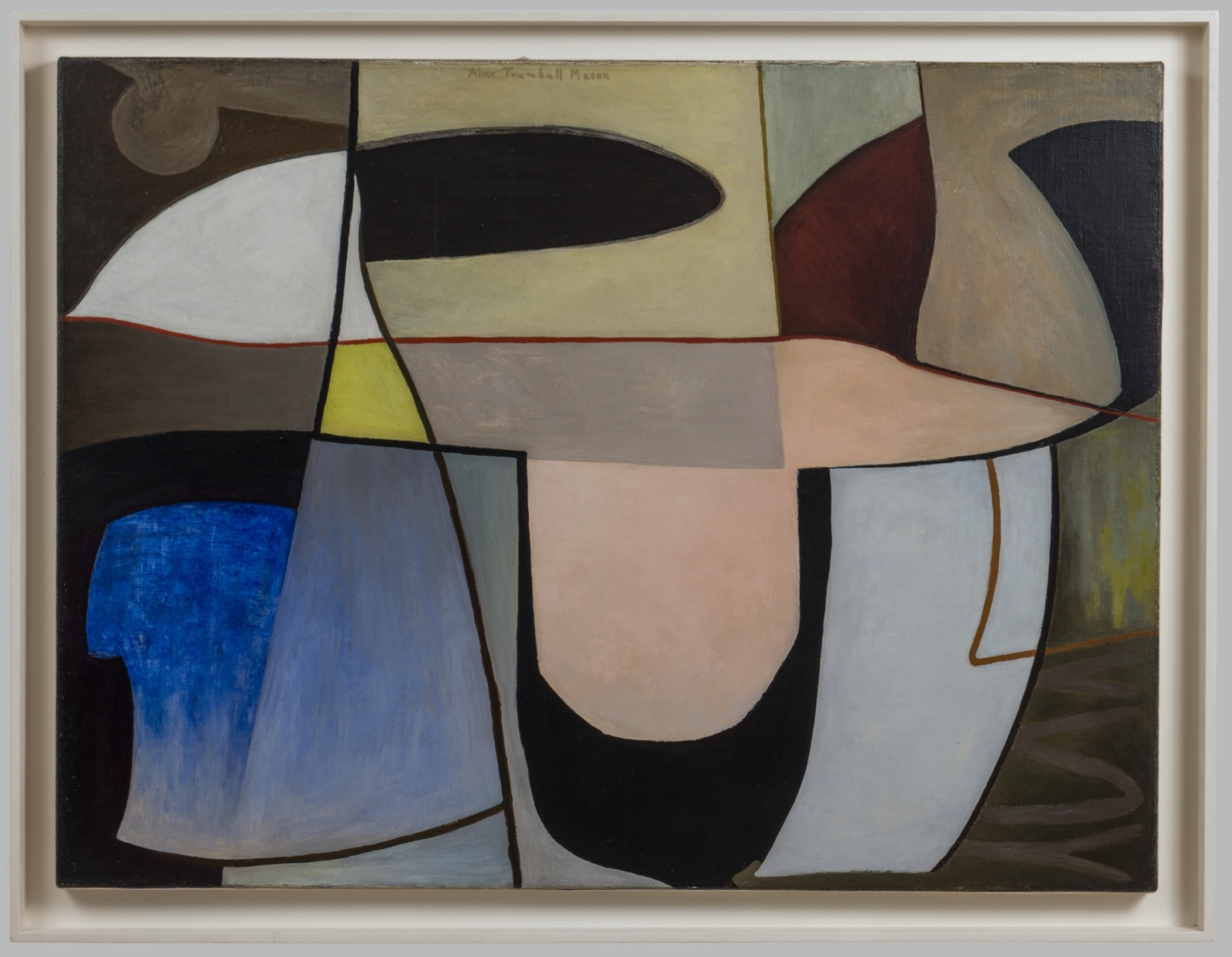 Alice Trumbull Mason. Untitled. 1939. oil on canvas. 20 x 40 inches scaled e1591997542372