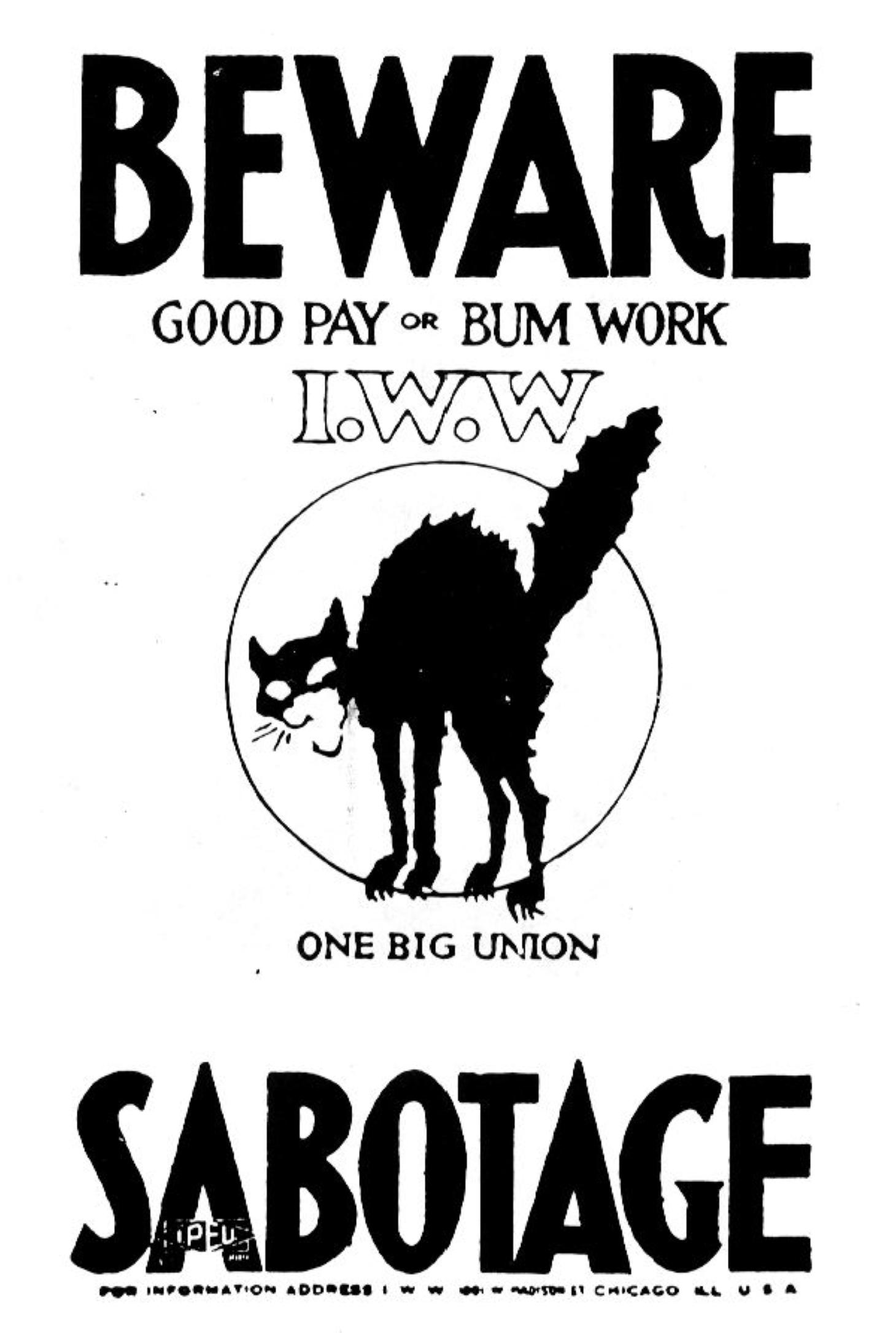 Beware Sabotage SA b