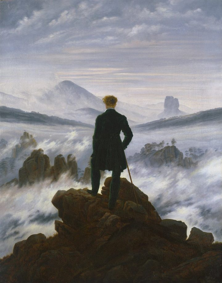 Caspar David Friedrich Wanderer above the Sea of Fog