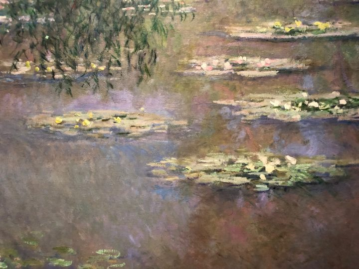 Detail of a Monet Painting