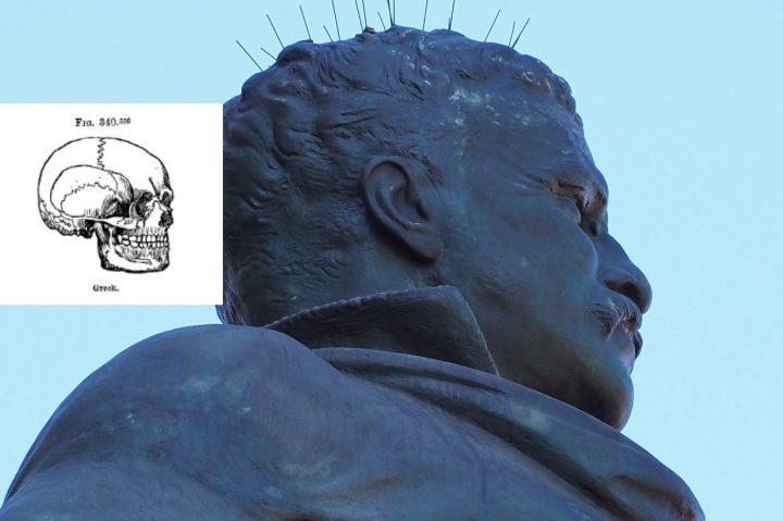 Roosevelt Greek head